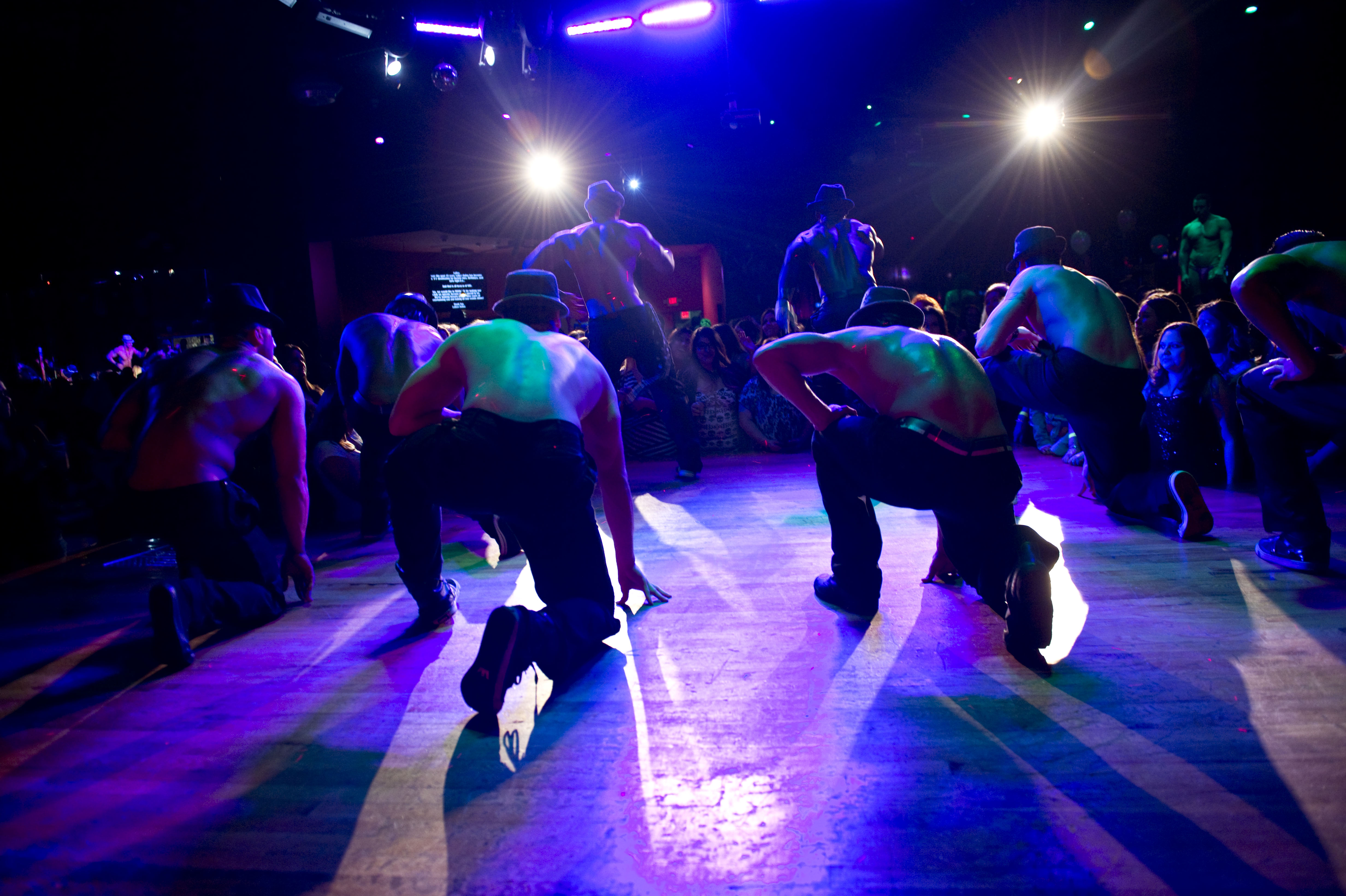 La Bare – La Bare Dancers on Stage – Photo by Justin Campbell – Main Street Films