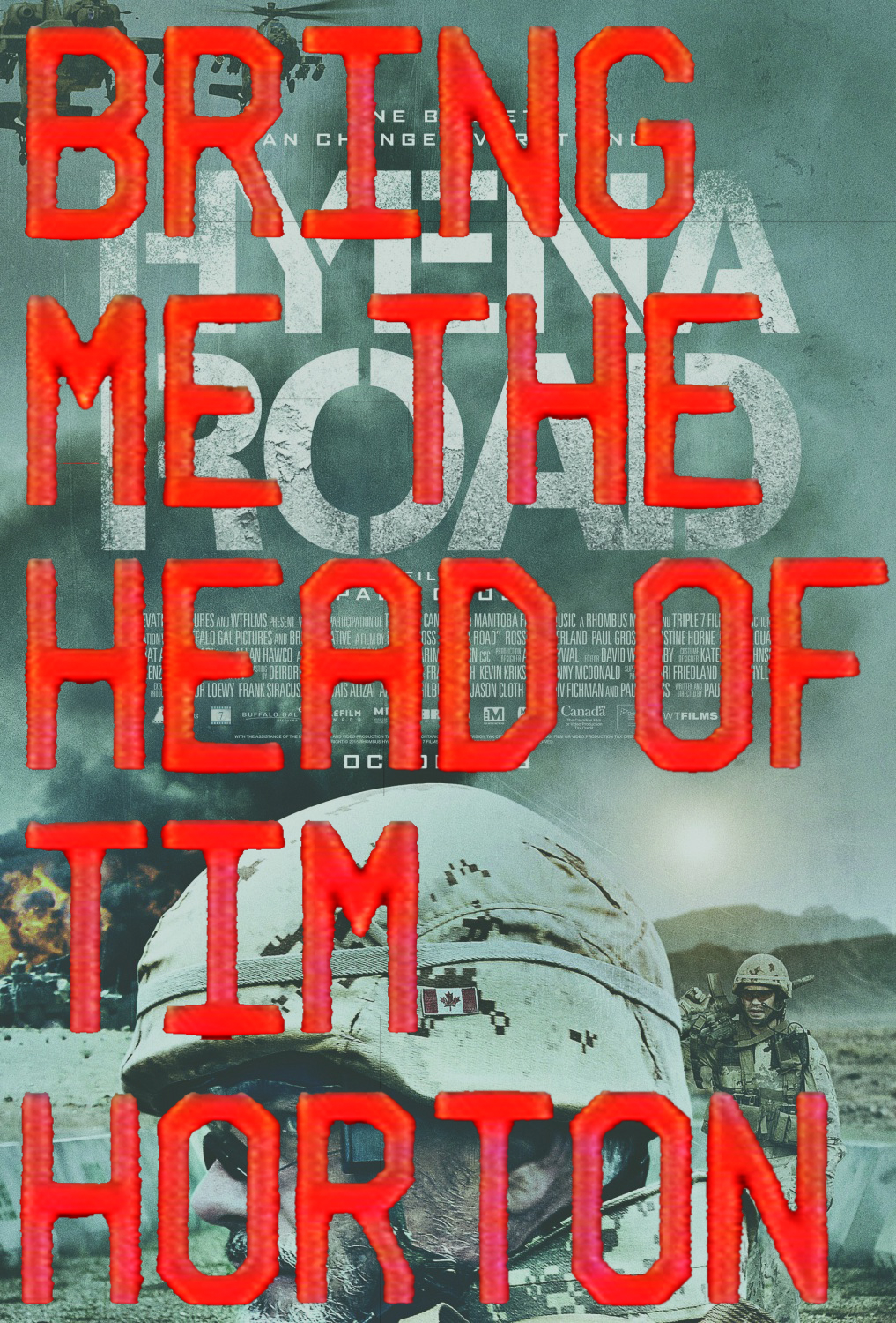bring me the head poster